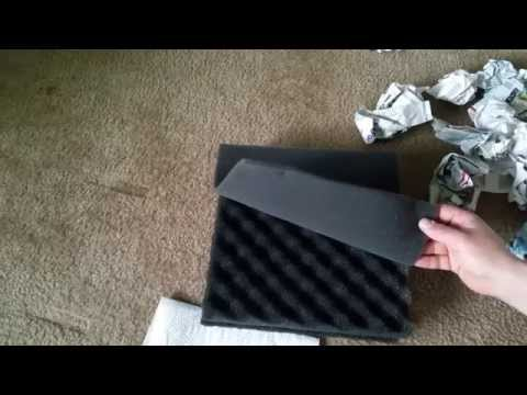 Unboxing freshwater filter foam upgrade