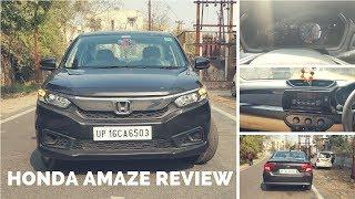 Honda Amaze 2019 In-Depth Review | Honda Amaze Petrol Review | New Honda Amaze