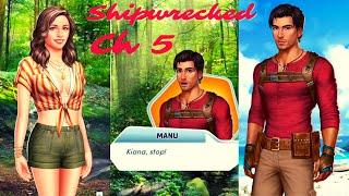 CASTAWAY CHEMISTRY.. Choices VIP: ⛵ Shipwrecked | Chapter # 5 (Female MC & Male LI) 💎💎Used💎💎 screenshot 3
