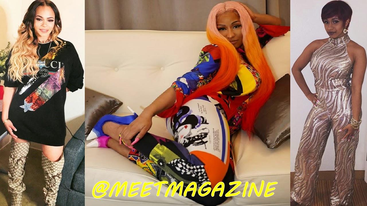Faith Evans fight vs Mary J Blige  - Cardi B vs Nicki Minaj fight news! #NickiMinaj #CardiB