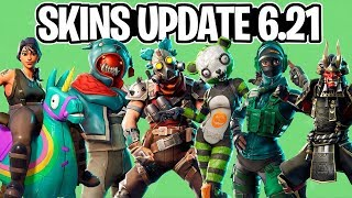 NEW LEAKED SKINS, PARACHUTES, GLIDERS, ETC FROM UPDATE 6.21-Fortnite