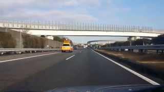 Дороги Японии. Проезжаю город Тойота / Roads in Japan. The road to Nagoya.