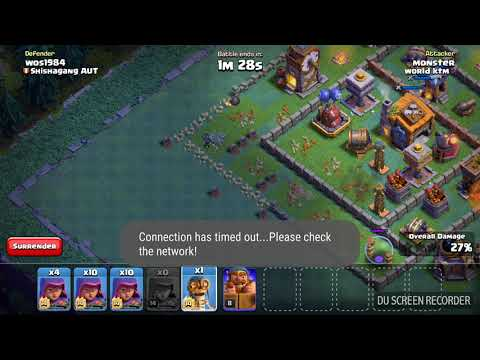 COC Attack Night Mode