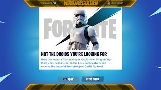 Fortnite Players React to Storm Trooper Skin - Star Wars