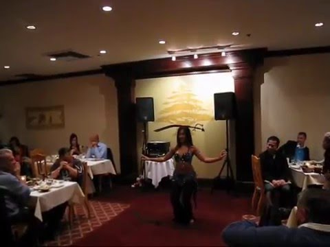 Gypsy Love Belly Dance Sword Solo