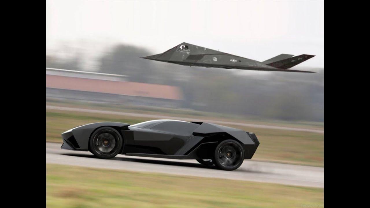 Lamborghini Ankonian Fastest Car That Can Beat Jet Youtube