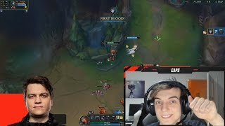 Caps Stream Highlights #3 DuoQ with NoWay | Best ADC in G2