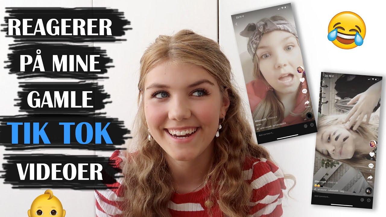 REAGERER PÅ MINE GAMLE TIK TOK VIDEOER 😂