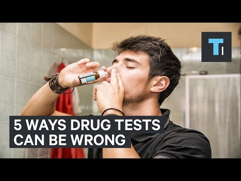 5 Ways You Could Falsely Test Positive For Drugs