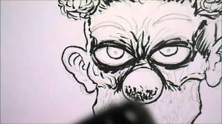 How To Draw Horror Clown Head