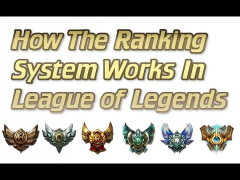 How The Ranking System Works In League of Legends   Provisional Games and MMR Explained