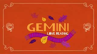 GEMINI MID-MONTH 15-30TH NOV. 2018 LOVE TAROT READING SOMEBODY IS WEARING A MASK 🦃