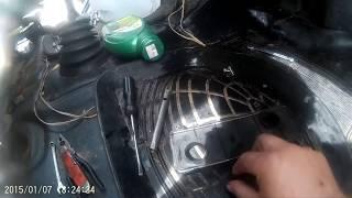 Заміна радіатора грубки і установка салонного фільтра на газель ч. 1