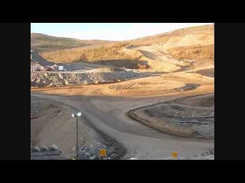 Open Pit Mining in the Yukon Movie
