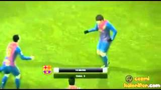 PES 12 NEW CELEBRATION - MJ MOONWALK BY MESSI & FELLAS