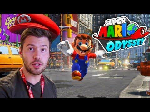 SUPER MARIO ODYSSEY - GAMEPLAY DEMO E3 - FRANCAIS - MONDE 2