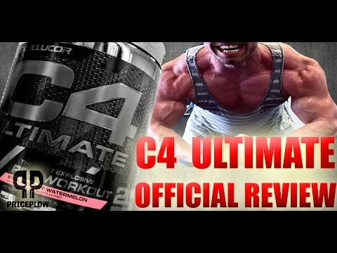 Cellucor C4 ULTIMATE Review: The C4 to End All C4's!