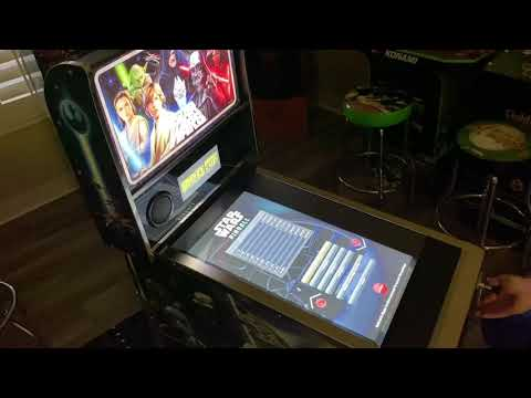 Arcade1up Star Wars Pinball, Masters of the Force: Extended Gameplay from Kelsalls Arcade