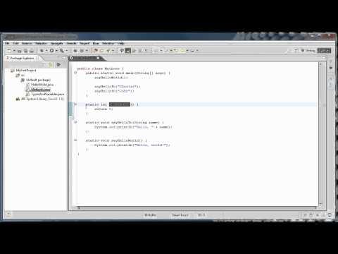Java Programming: 4 - Methods