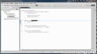 Java Programming: 4 - Methods