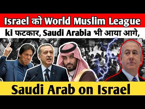 Israel को World Muslim League ki फटकार, Saudi Arabia भी आया आगे। Saudi Arab on Israel