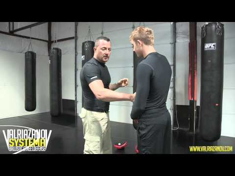 Punching techniques by eX KGB and Russian Special Forces Specialist Val Riazanov