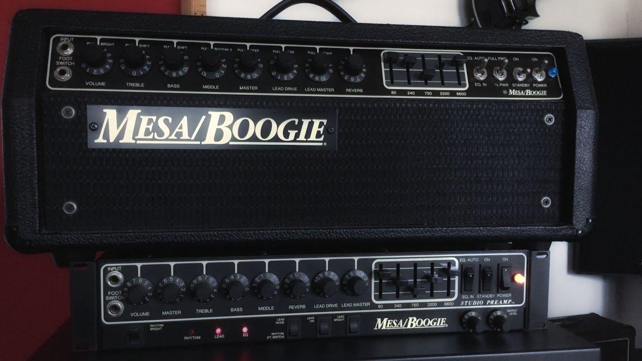 Mesa Boogie Mk Iii Vs Studio Preamp Metal