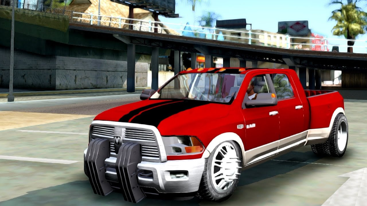dodge ram 3500 tuning gta san andreas youtube. Black Bedroom Furniture Sets. Home Design Ideas