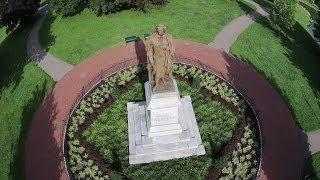 Sky View of Schiller Park - Columbus, OH - Historic DJI Drone Cam