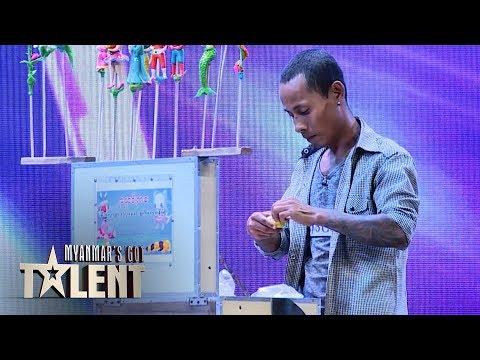 Kyaw Thura: Auditions | Myanmar's Got Talent 2019