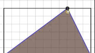 Формула площади треугольника(Площадь треугольника равна половине произведения длины стороны треугольника на длину проведенной к этой..., 2014-10-03T09:19:43.000Z)