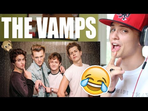 The Vamps BEST/FUNNIEST Moments REACTION