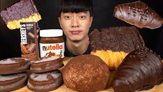 SUB) 초코파티  초콜릿 디저트 먹방 CHOCOLAT…