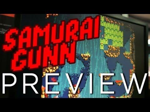GDC Indie Hit: SAMURAI GUNN! 2D Samurai Deathmatch... With Guns!