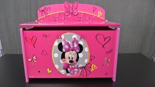 Minnie Toy Box From Delta Children's Products