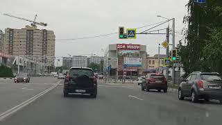 Анапа. Ул Крымская от администрации до гипермаркета