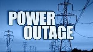 Are you prepared for a major power outage?