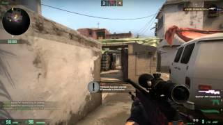 CSGO - NA SMOKES! (Competitive Match With TheCrew)
