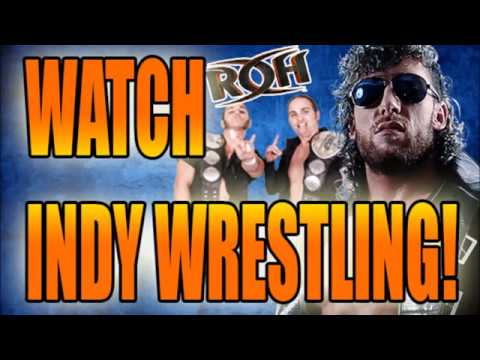 HOW TO WATCH ROH FREE - Watch Indy Wrestling