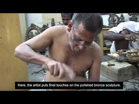 Casting Bronze Statues in South India