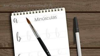 Como DIBUJAR letras bonitas, LETTERING - Minúsculas scrapbook DIY