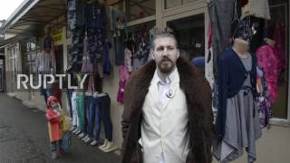 Serbia: Corrupt, but very honest about it - spoof politician Beli is shaking up presidential race