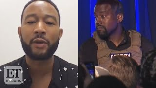 John Legend On Kanye West Taking Biden Votes