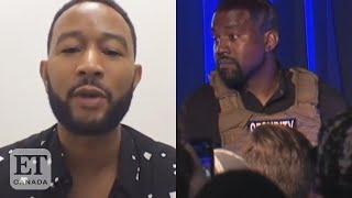 John Legend On Kanye West Taking Biden Votes