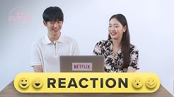 Kim Go-eun and Jung Hae-in react to Tune in for Love highlights [ENG SUB]