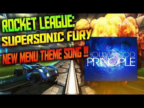 Rocket League: New Menu Theme Song Fireworks - Hollywood Principle (PS4/PC)