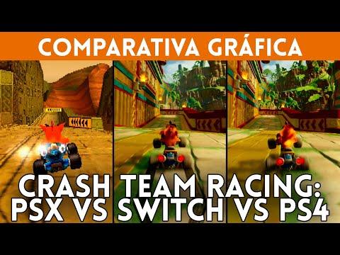 Repeat CRASH TEAM RACING COMPARATIVA GRÁFICA: PSX (1999) vs