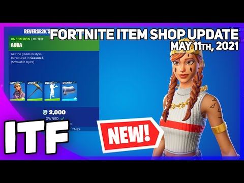 Fortnite Item Shop *NEW* REVERSE2K'S LOCKER BUNDLE! [May 11th, 2021] (Fortnite Battle Royale)