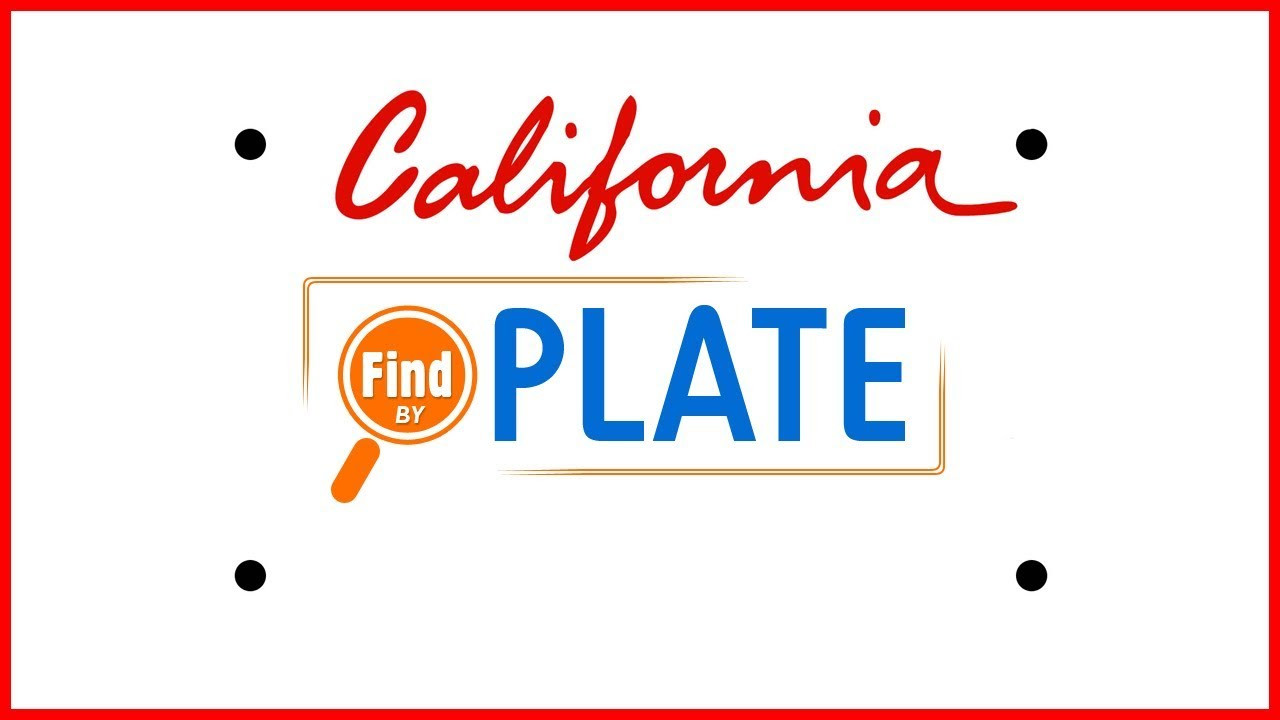 California License Plate Search for Free
