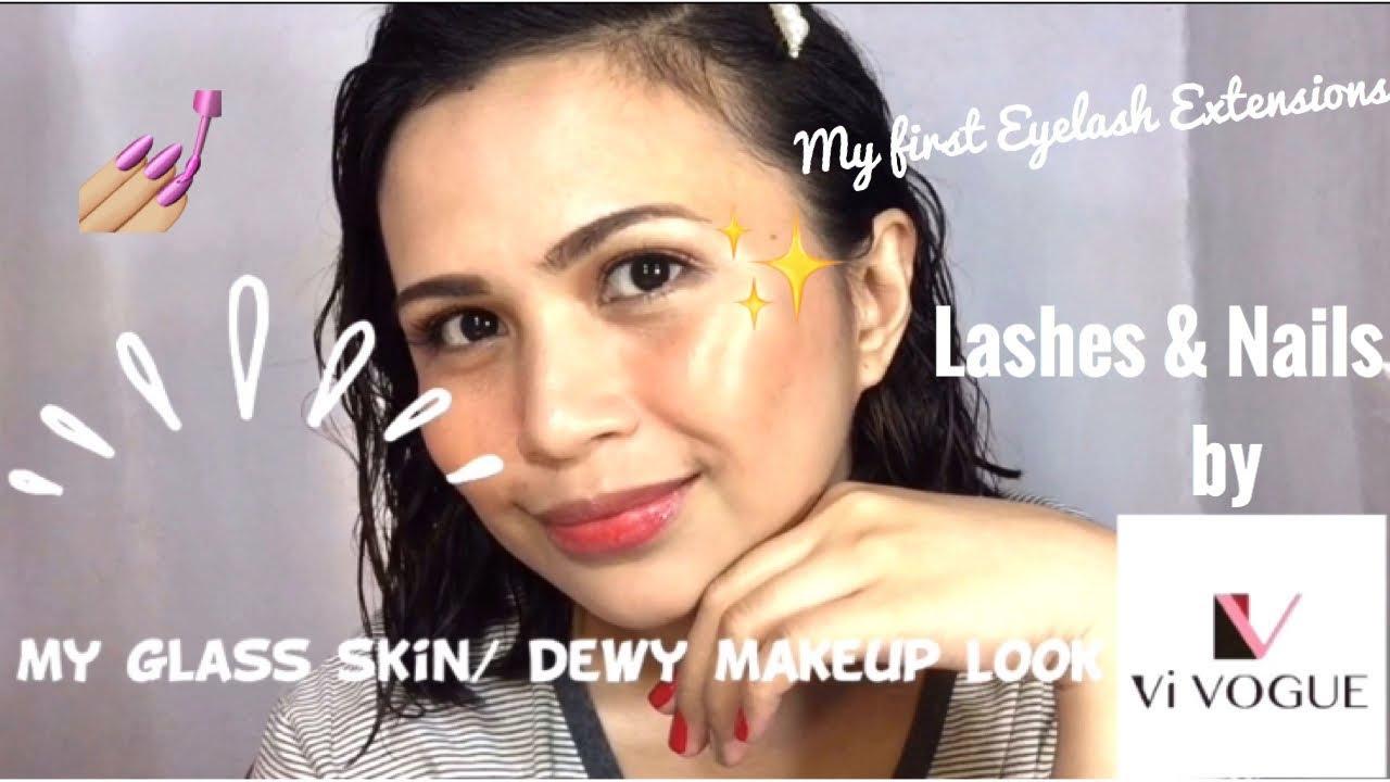 e28e2a43a52 Dewy Makeup Look| Eyelash Extensions by Vi VOGUE CEBU|Maria Nicole ...